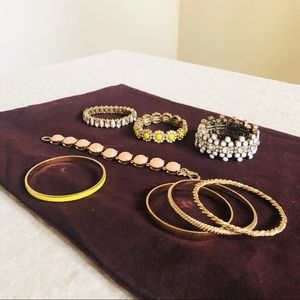 Jcrew bracelet/bangles in bundle